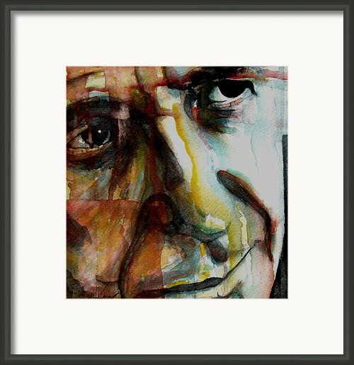Leonard  Framed Print By Paul Lovering