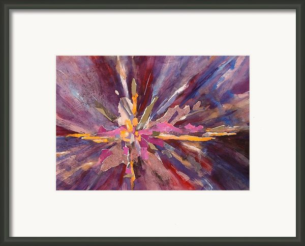 Let There Be Light Framed Print By Joan  Jones