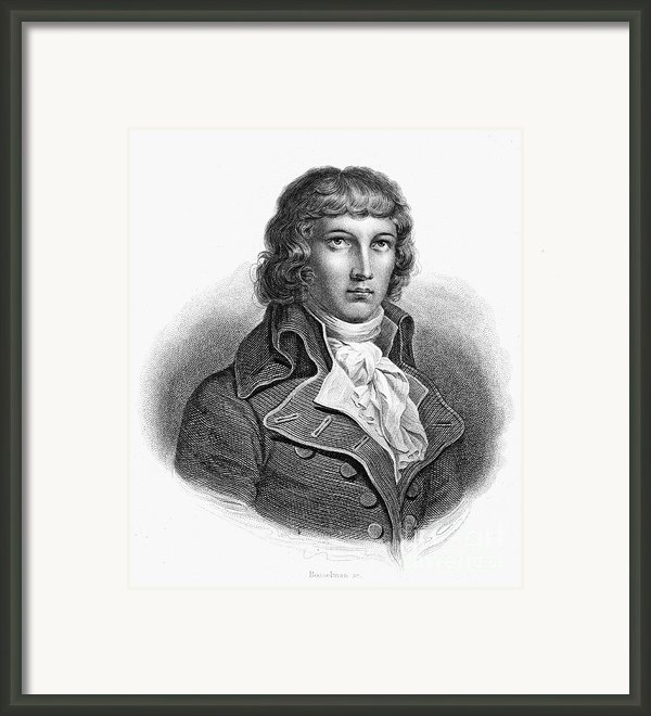 Louis Saint-just (1767-1794) Framed Print By Granger