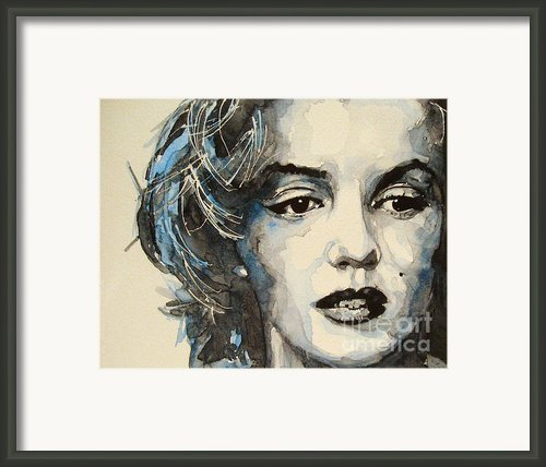 Marilyn Framed Print By Paul Lovering