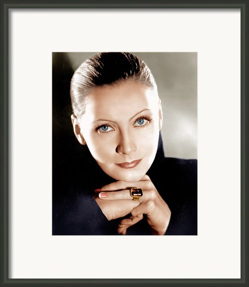 Mata Hari, Greta Garbo, 1931 Framed Print By Everett
