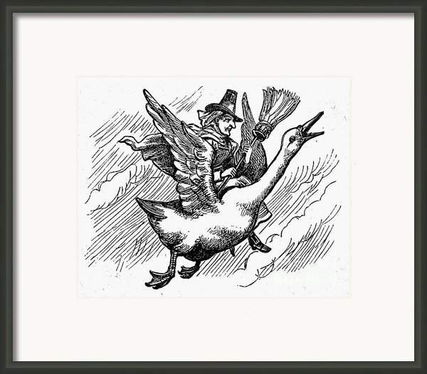 Mother Goose Framed Print By Granger
