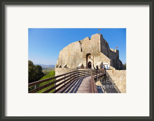 Neamt Fortress Framed Print By Gabriela Insuratelu