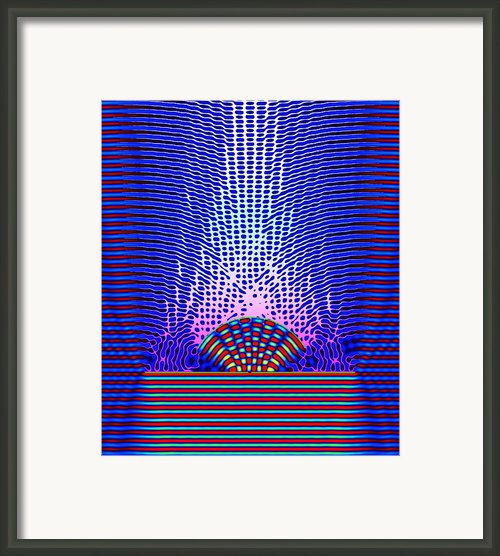 Quantum Resonance Framed Print By Eric Heller