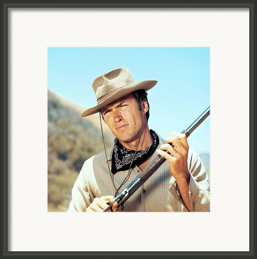 Rawhide, Clint Eastwood, 1959-66 Framed Print By Everett