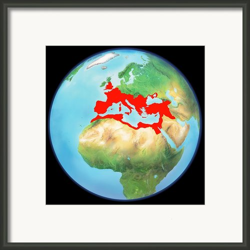 Roman Empire, Artwork Framed Print By Gary Hincks