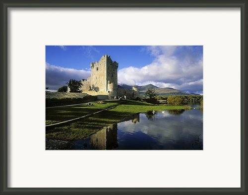Ross Castle, Killarney, Co Kerry Framed Print By The Irish Image Collection