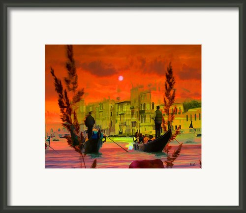 Somewhere In Italy Framed Print By Brian Sunderland