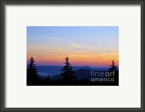 Summer Solstice Sunrise Framed Print By Thomas R Fletcher