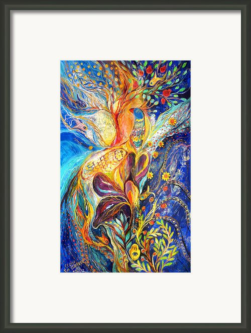 The King Bird Framed Print By Elena Kotliarker
