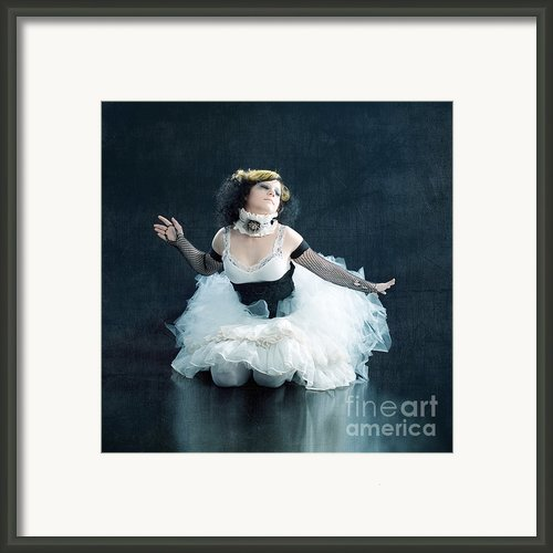 Vintage Dancer Series Framed Print By Cindy Singleton