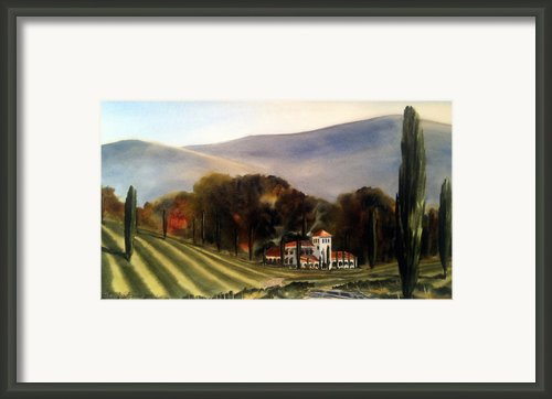 Vintage Year Framed Print By Don F  Bradford