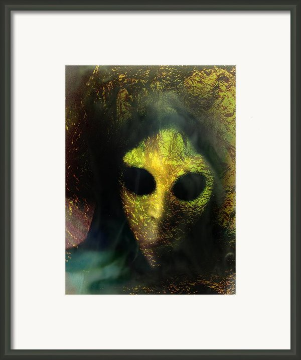 Visitor Framed Print By Shirley Sirois
