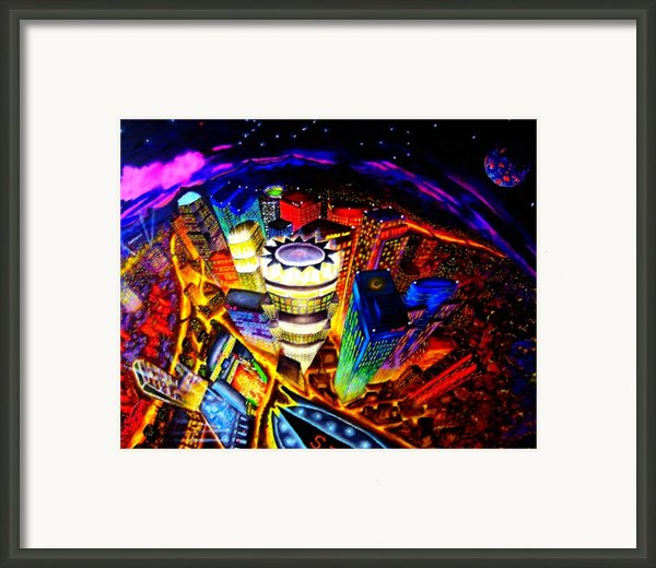 Vorticity Ii Framed Print By Chris Haugen