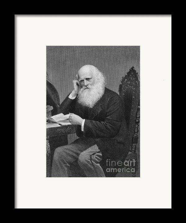 William Cullen Bryant Framed Print By Granger