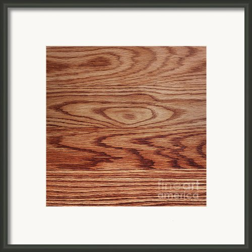 Wood Texture Framed Print By Blink Images