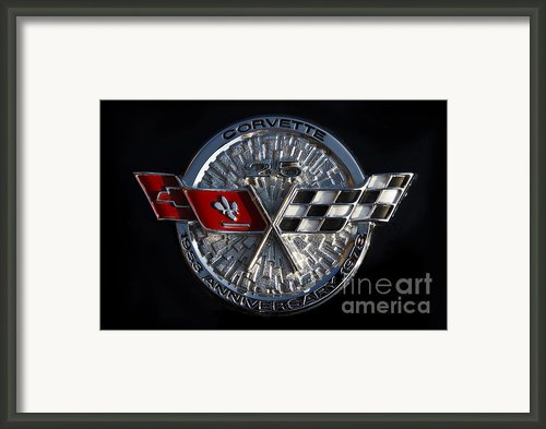 25th Anniversary Framed Print By Dennis Hedberg