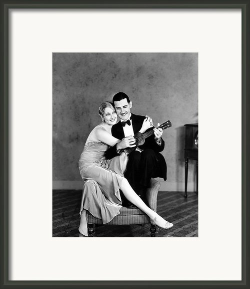 Silent Film Still: Couples Framed Print By Granger