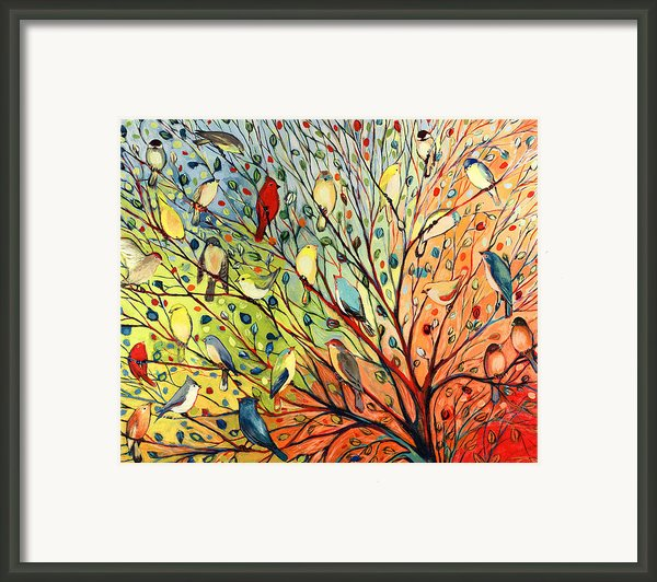 27 Birds Framed Print By Jennifer Lommers