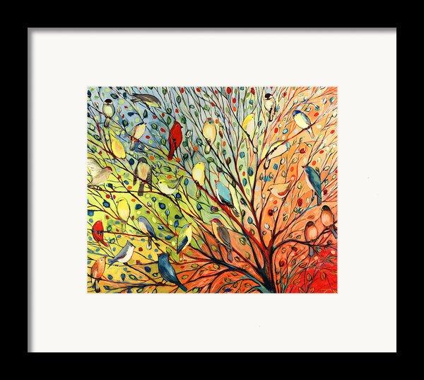 27 Birds Framed Print By Jennifer Lommers