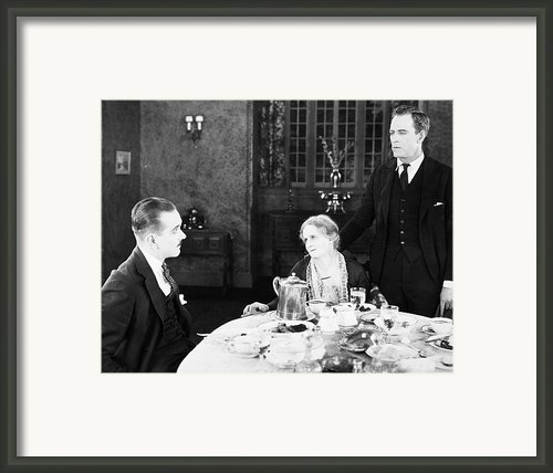 Film Still: Eating & Drinking Framed Print By Granger