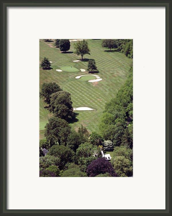2nd Hole Philadelphia Cricket Club St Martins Golf Course Framed Print By Duncan Pearson