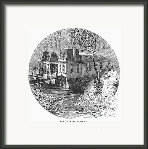 Arkansas: Hot Springs, 1878 Framed Print By Granger
