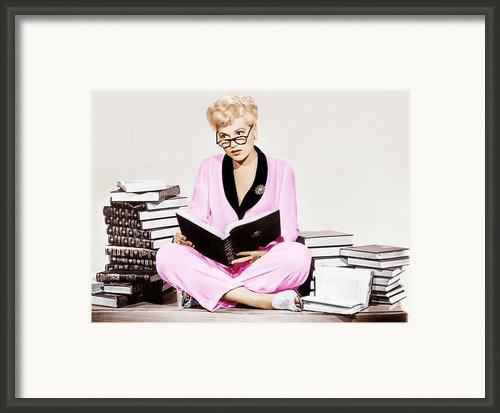 Born Yesterday, Judy Holliday, 1950 Framed Print By Everett