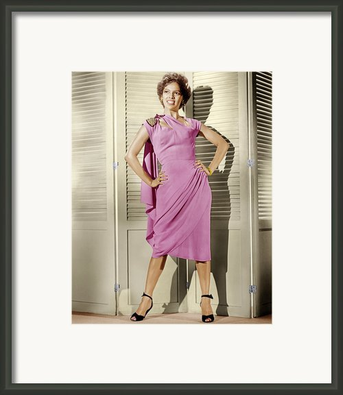 Carmen Jones, Dorothy Dandridge, 1954 Framed Print By Everett