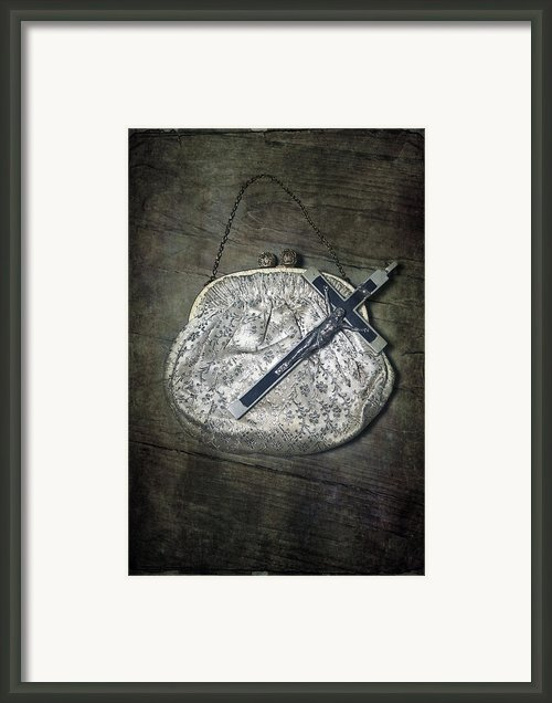 Crucifix Framed Print By Joana Kruse