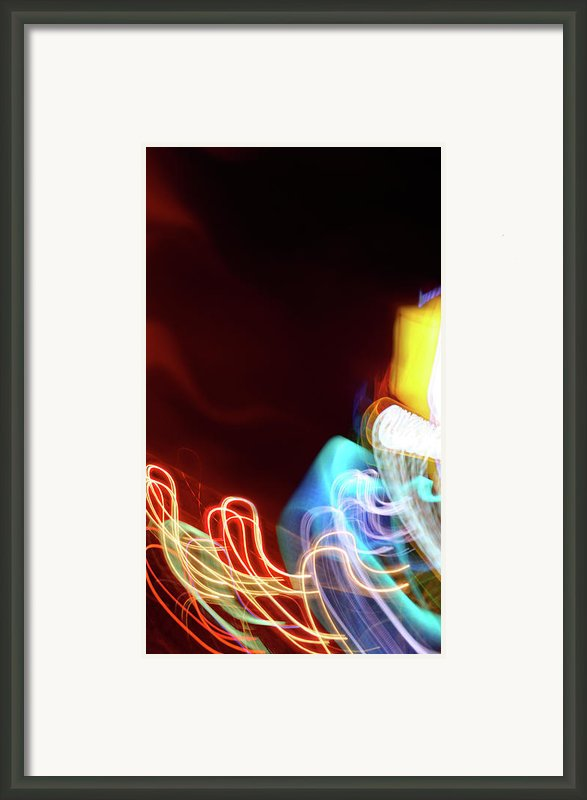 Energy Framed Print By Tj Evans