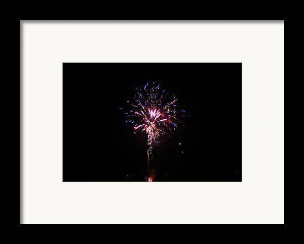 Fireworks Framed Print By Robbie Basquez