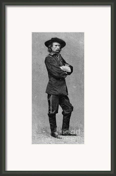 George Custer (1839-1876) Framed Print By Granger