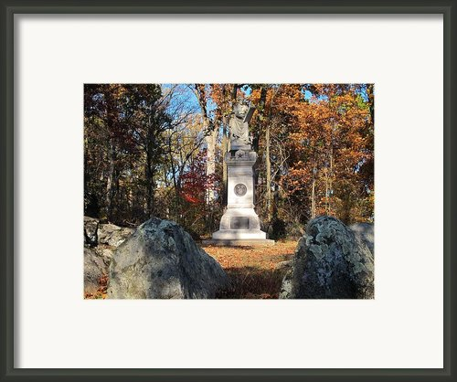 Gettysburg Three Days Battle   Framed Print By Valia Bradshaw