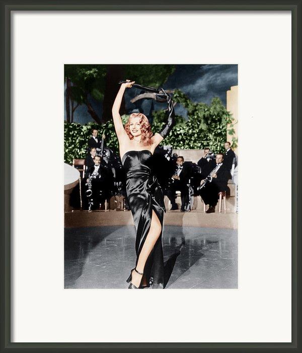Gilda, Rita Hayworth, 1946 Framed Print By Everett