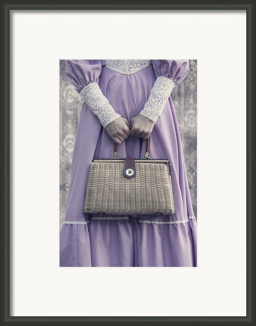Handbag Framed Print By Joana Kruse
