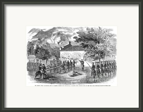 Harpers Ferry, 1859 Framed Print By Granger