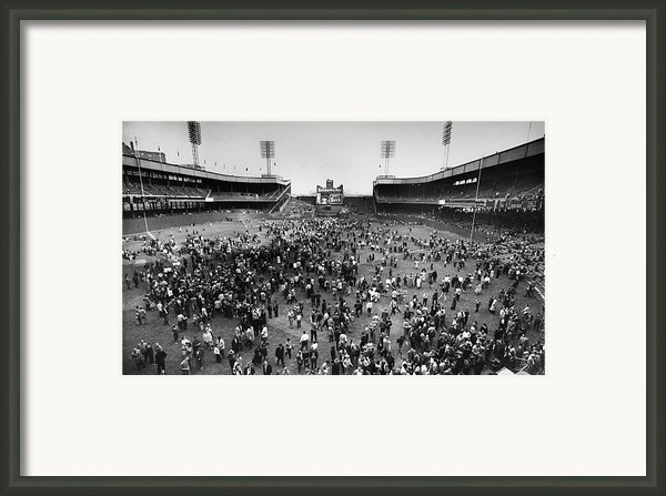 New York: Polo Grounds Framed Print By Granger