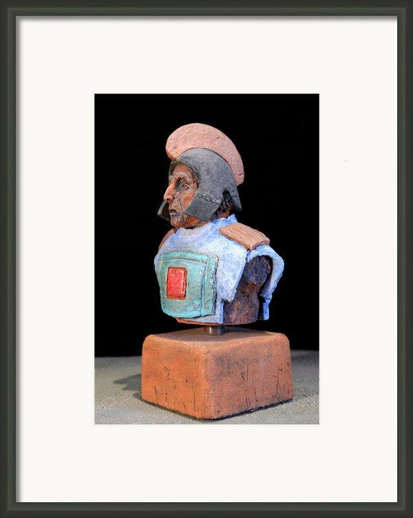 Roman Legionaire - Warrior - Ancient Rome - Roemer - Romeinen - Antichi Romani - Romains - Romarere Framed Print By Urft Valley Art