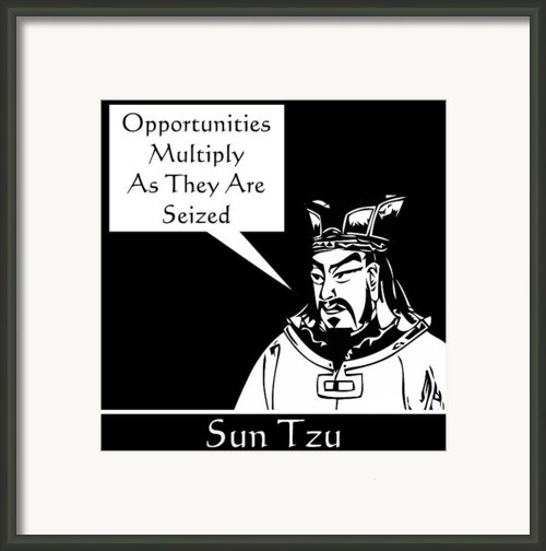 Sun Tzu Framed Print By War Is Hell Store