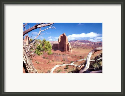 Temple Of The Moon Framed Print By John Foote