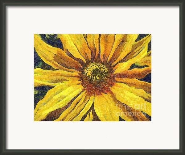 The Flower Framed Print By Odon Czintos