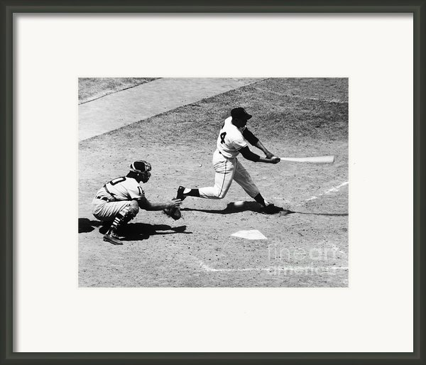 Willie Mays (1931- ) Framed Print By Granger