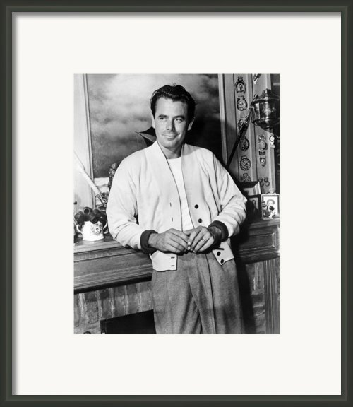 310 To Yuma, Glenn Ford, 1957 Framed Print By Everett