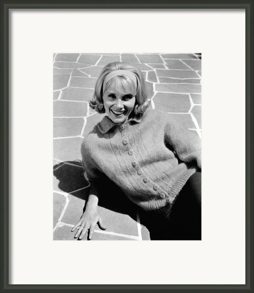 36 Hours, Eva Marie Saint, 1964 Framed Print By Everett