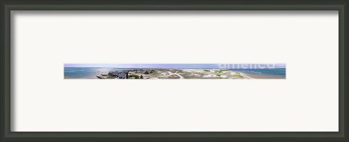 360 Panorama Of Sandy Neck Framed Print By Charles Harden