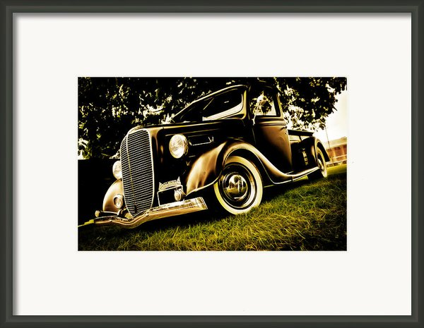 37 Ford Pickup Framed Print By Phil