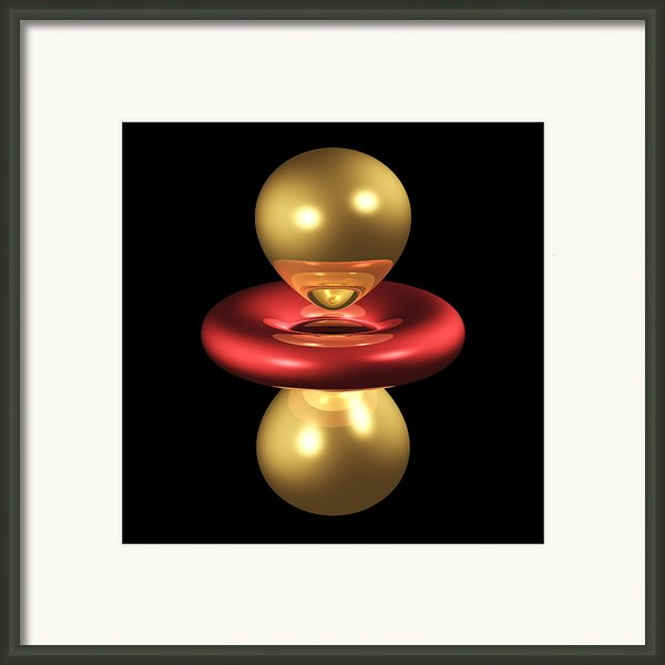 3dz2 Electron Orbital Framed Print By Dr Mark J. Winter