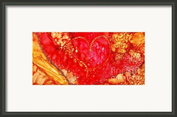 3rd Heart Framed Print By Joyce Auteri