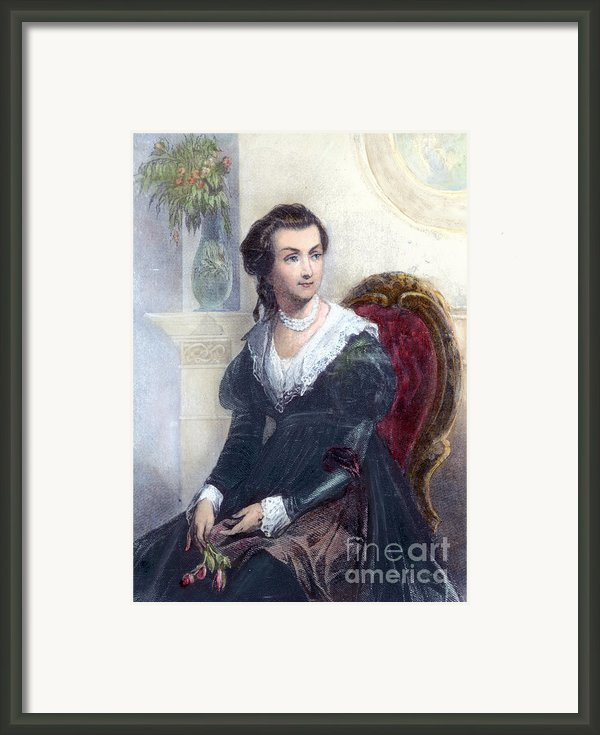 Abigail Adams (1744-1818) Framed Print By Granger